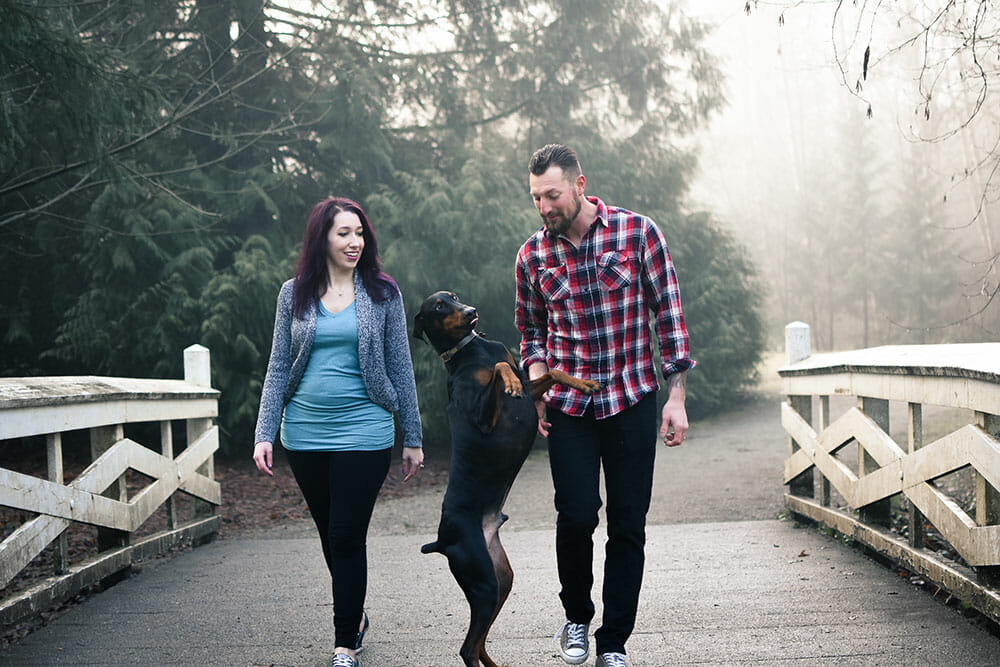 Twins Pregnancy Announcement Photo