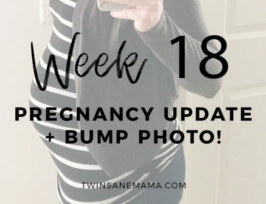 Twin Pregnancy 18 Week Bump