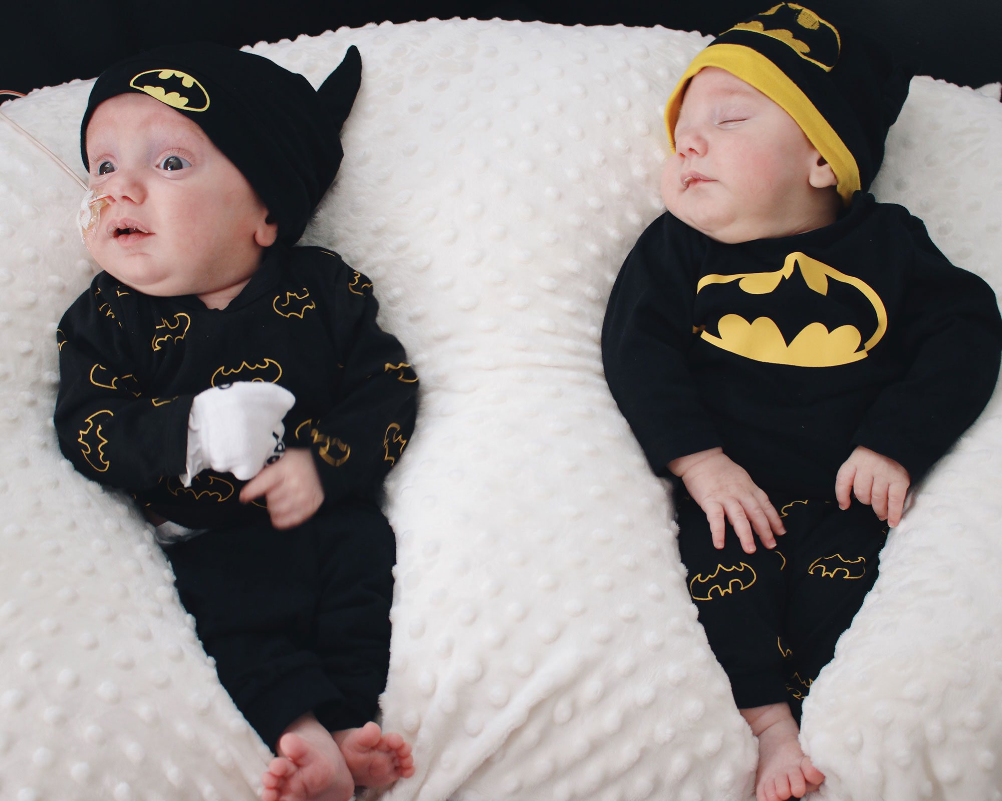 Mini Batman Twin Photo Shoot